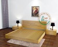 Giường gỗ sồi kiểu Nhật - 01