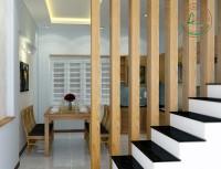 Thanh gỗ tạo vách lam